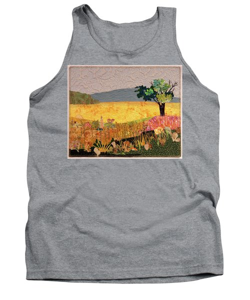 Touch Of Goldenrod Tank Top