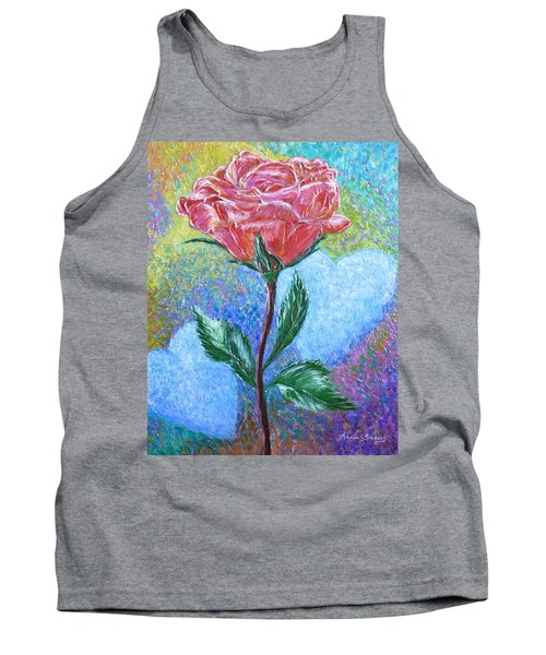 Touched By A Rose Tank Top