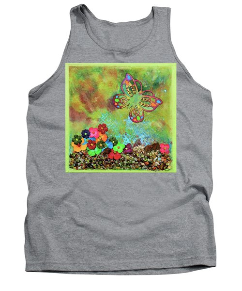 Touched By Enchantment Tank Top by Donna Blackhall