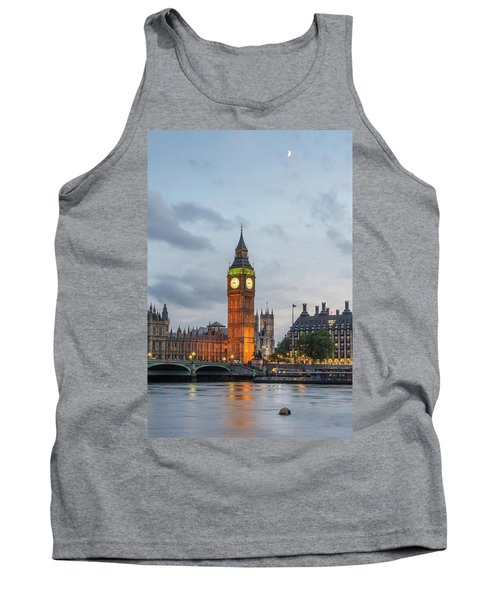 Tower Of London In The Moonlight Tank Top