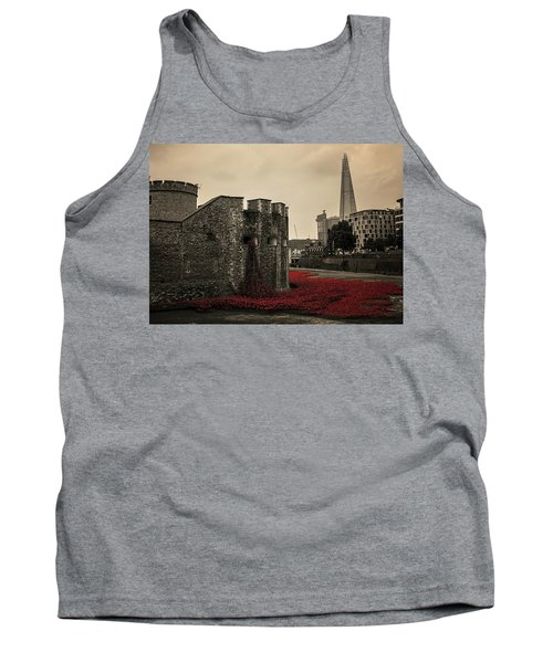Tower Of London Tank Top by Martin Newman