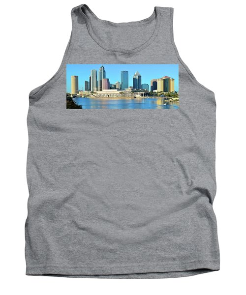 Tank Top featuring the photograph Towers By The Bay by Frozen in Time Fine Art Photography