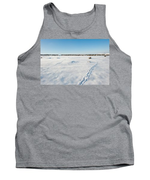 Tracks In The Snow Tank Top