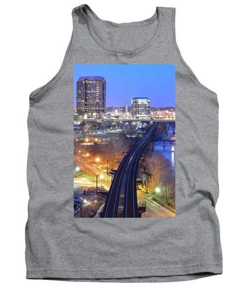 Tracks Into The City Color Tank Top