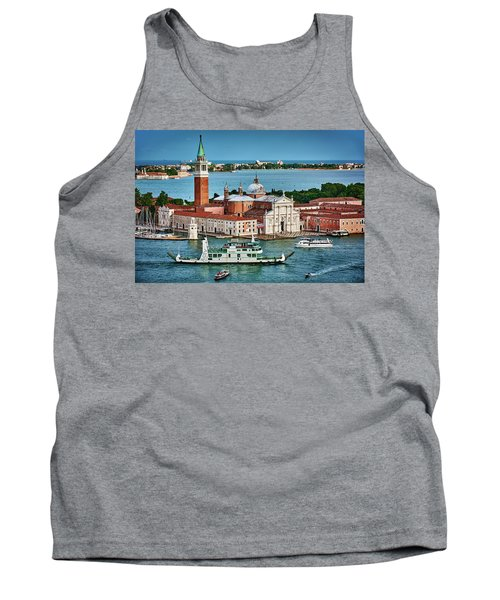 Traffic Around The Venetian Church Tank Top