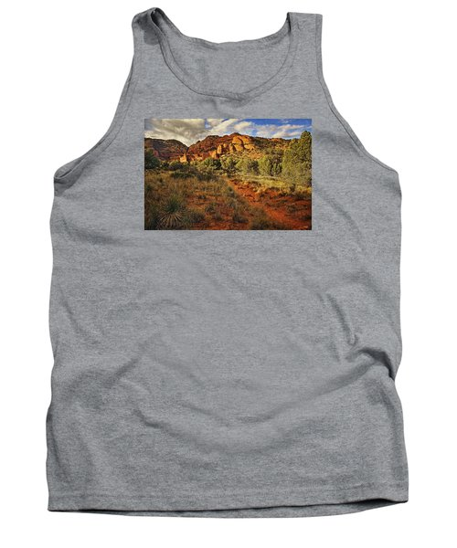 Trailing Along Txt Tank Top