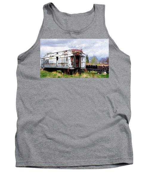 Train Tootoot Tank Top