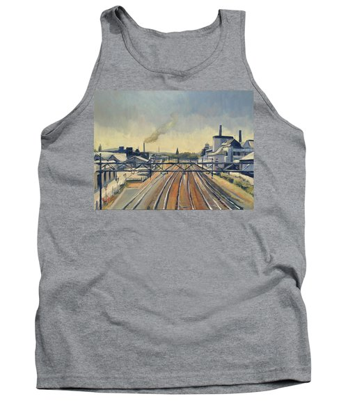 Train Tracks Maastricht Tank Top