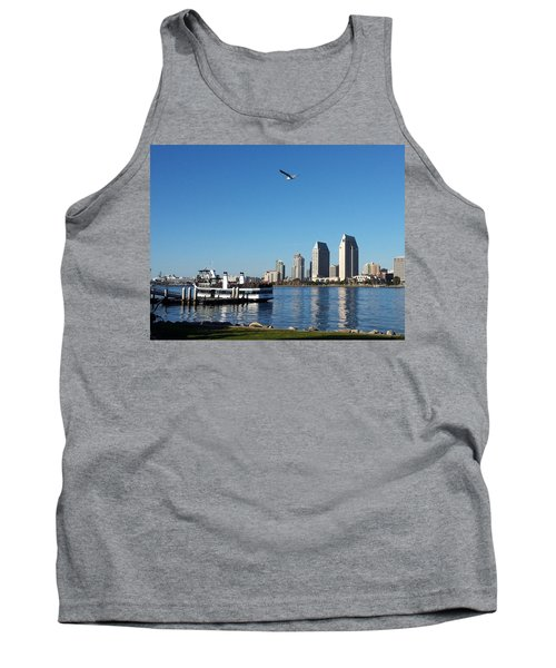 Tranquility By The Bay Tank Top