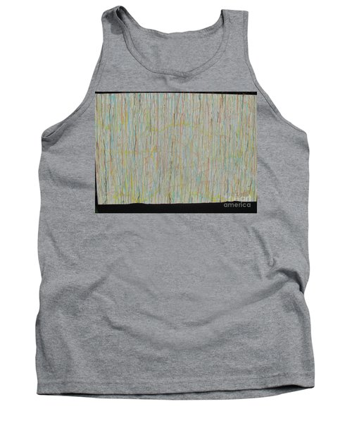 Tank Top featuring the painting Tranquility by Jacqueline Athmann