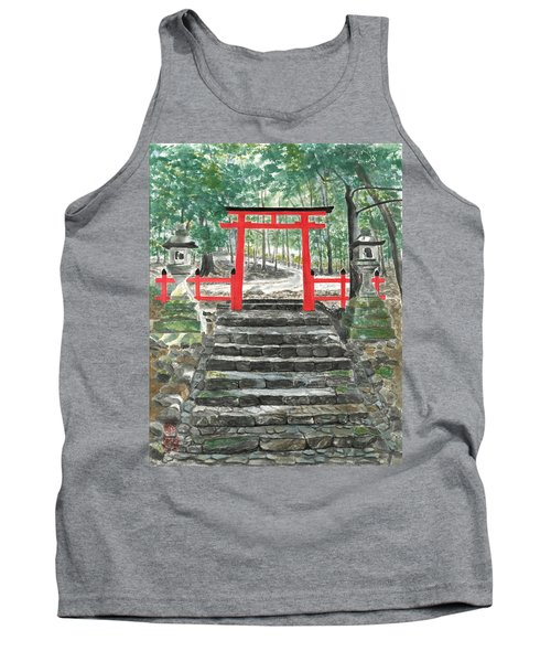 Tranquility Torii Tank Top