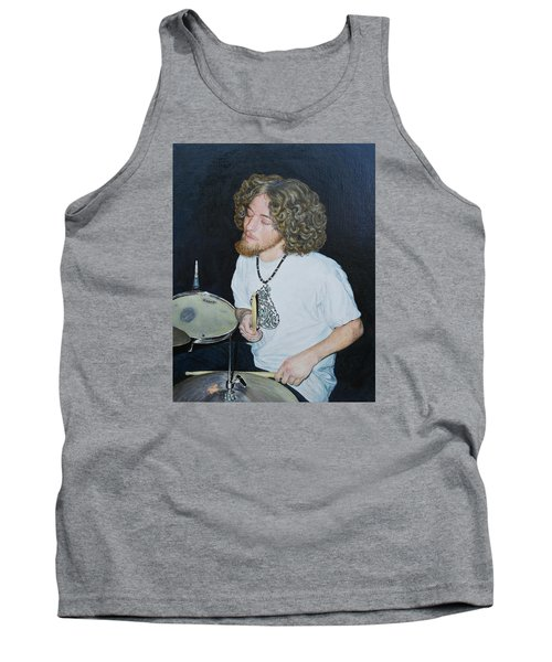 Transported By Music Tank Top by Michele Myers