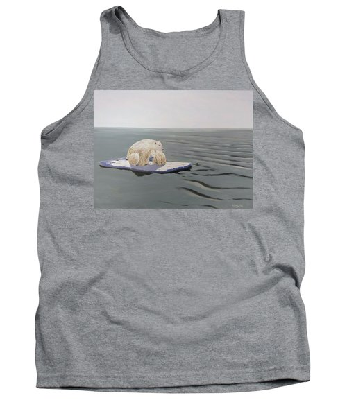 Tank Top featuring the painting Stranded by Kevin Daly