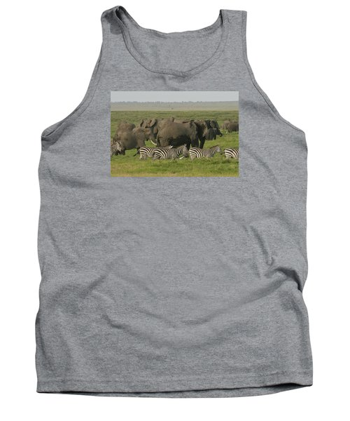 Tank Top featuring the photograph Travelling Companions by Gary Hall