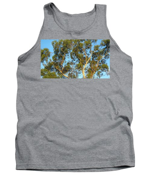 Tree And Sky Tank Top