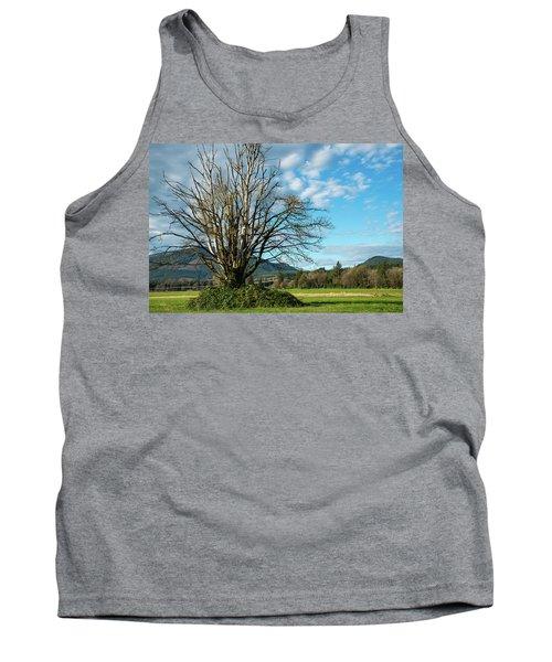 Tree And Sky Tank Top