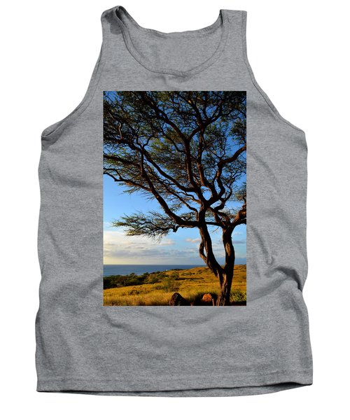 Tree At Lapakahi State Historical Park Tank Top