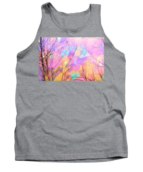 Tank Top featuring the photograph Tree Dance by Kathy Bassett
