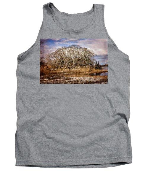 Tree In Marsh Tank Top