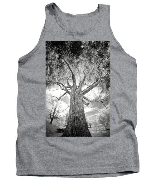 Tree Monster Bw Ap Tank Top