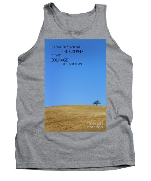 Tree Of Courage Tank Top