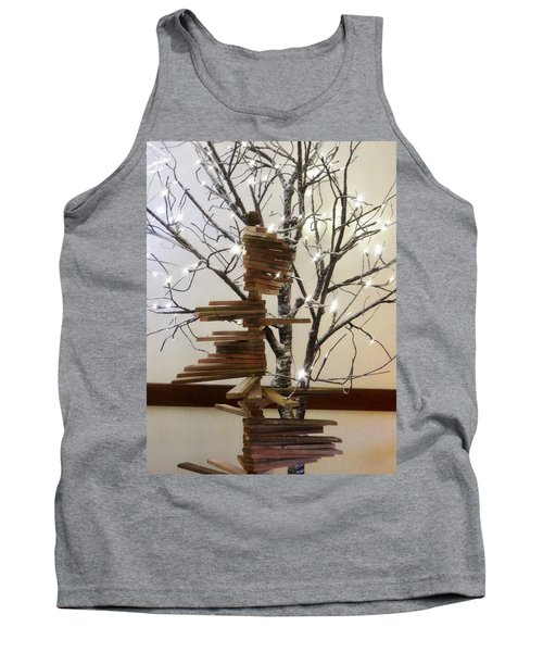 Tank Top featuring the photograph Tree Of Lights by Robin Regan