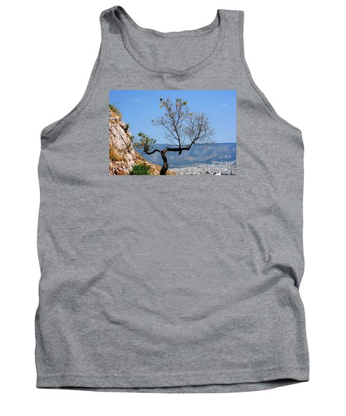 Tree On Acropolis Hill Tank Top