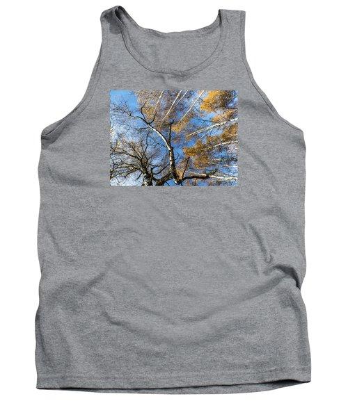 Trees Grow To The Sky Tank Top by Odon Czintos