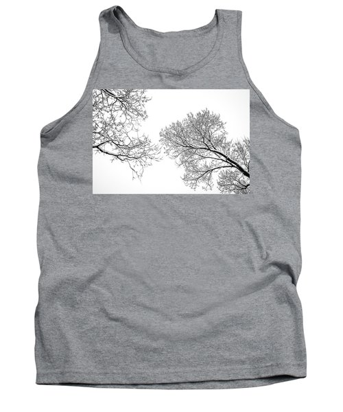 Tank Top featuring the photograph Trees Reaching by Marilyn Hunt