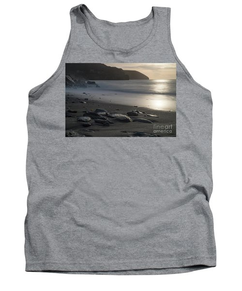 Tank Top featuring the photograph Photographs Of Cornwall Trevellas Cove Cornwall by Brian Roscorla