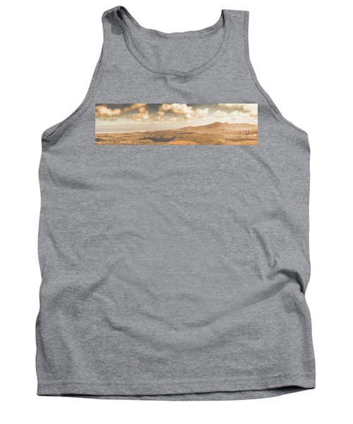 Trial Harbour Landscape Panorama Tank Top
