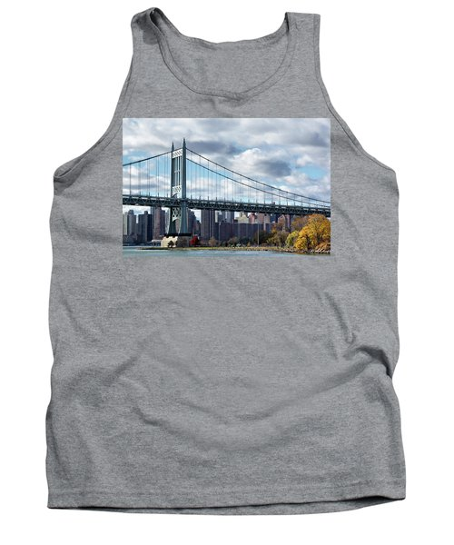 Triboro Bridge In Autumn Tank Top