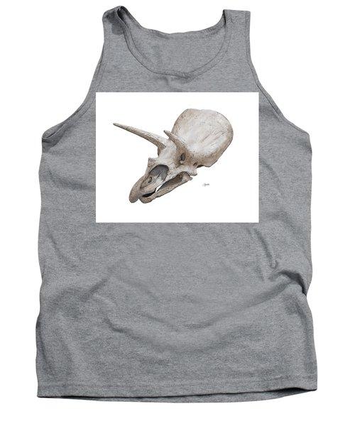 Triceratops Skull Tank Top