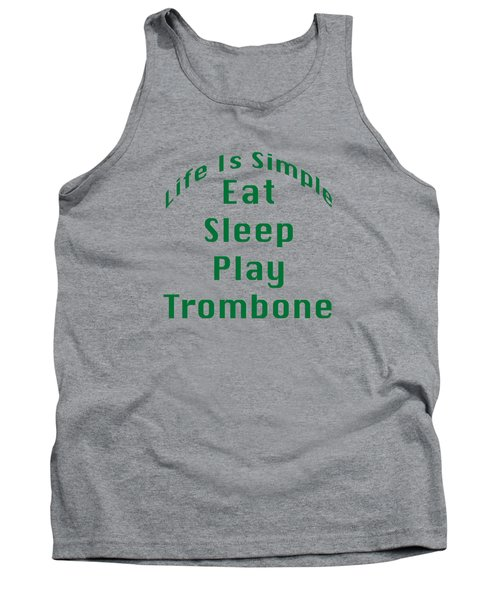 Trombone Eat Sleep Play Trombone 5517.02 Tank Top