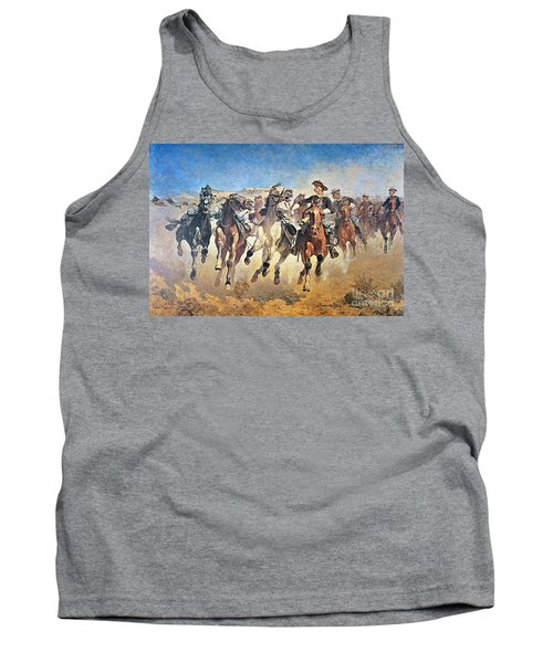 Troopers Moving Tank Top