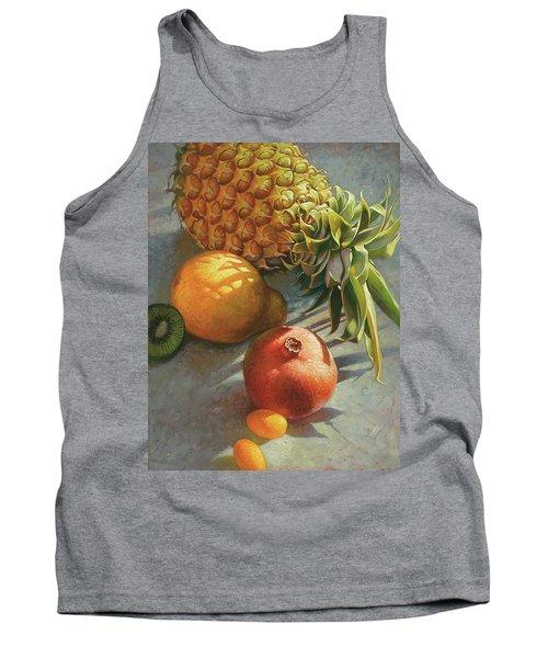 tropical Fruit Large Tank Top