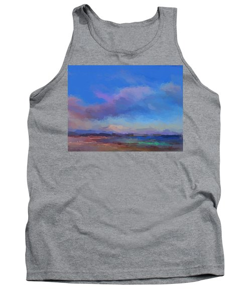 Tropical Seascape Tank Top by Anthony Fishburne