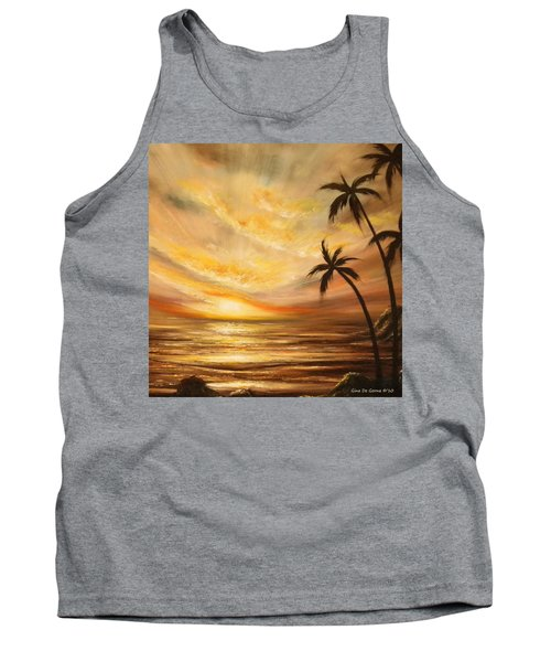 Tropical Sunset 64 Tank Top