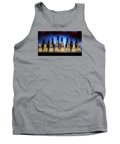 Tank Top featuring the photograph Trouble On The Horizon by Stephen Flint
