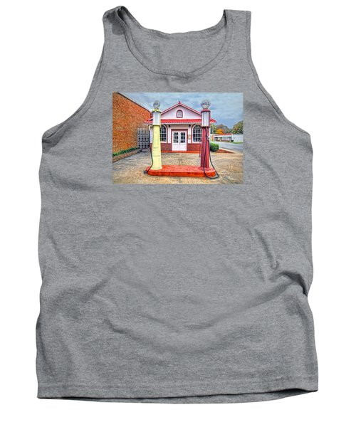 Trucking Museum Tank Top by Marion Johnson