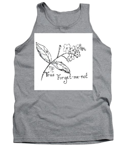 True Forget-me-not Tank Top