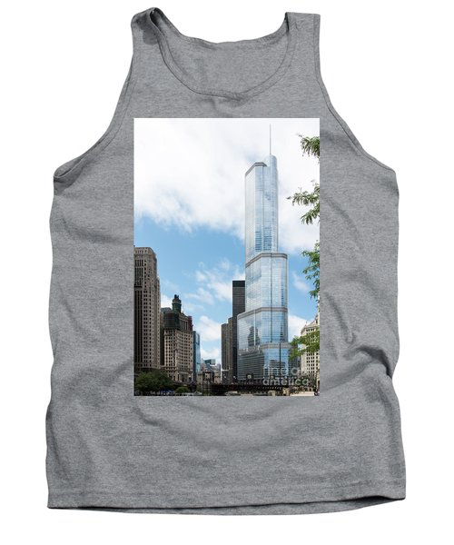 Trump Tower In Chicago Tank Top
