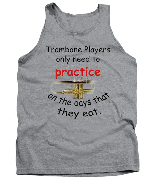 Trumpets Practice When They Eat Tank Top