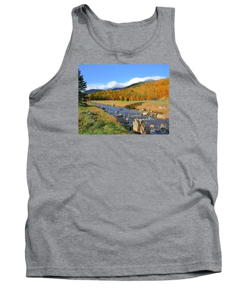 Tank Top featuring the photograph Tuckerman's Ravine by Debbie Stahre