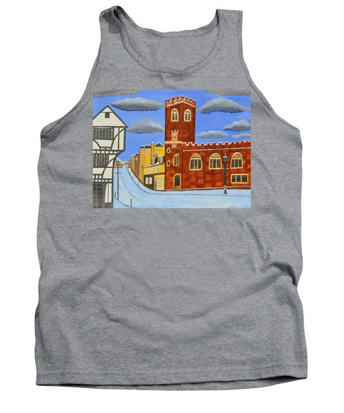 Tudor House In Exeter  Tank Top