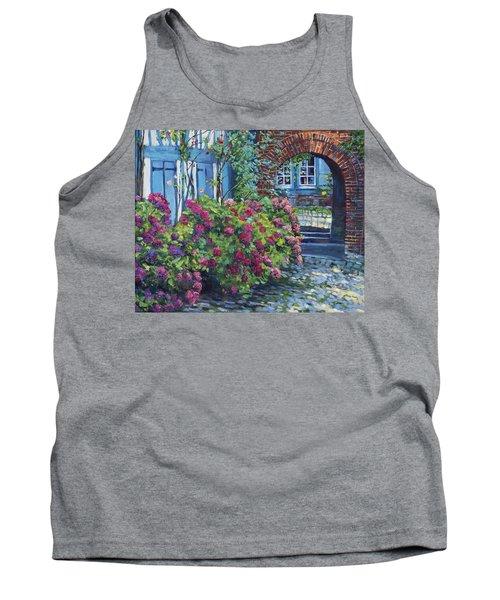 Tudor Hydrangea Garden Tank Top