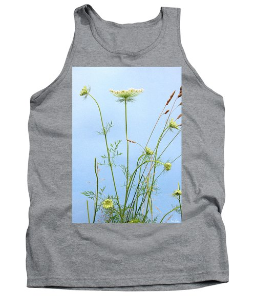 Tuft Of Queen Anne's Lace Tank Top