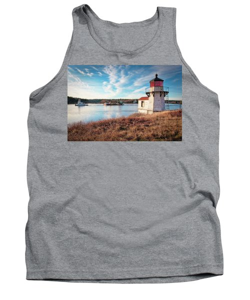 Tugboat, Squirrel Point Lighthouse Tank Top