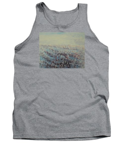 Tulips Dance Abstract 3 Tank Top