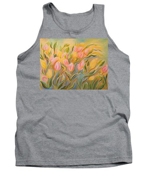 Tulips Tank Top by Theresa Marie Johnson